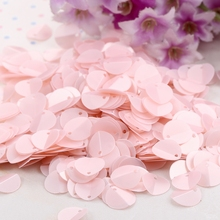 250pcs(10g) 10mm Folded Sequins Oval Loose Sequin Matting Dia Paillettes Sewing Craft for Women Headwear Garment Accessories