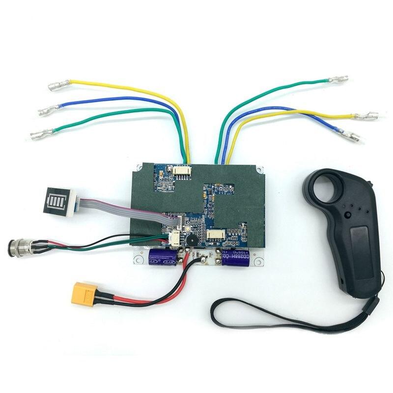 Contrôleur de planche à roulettes électrique planche à roulettes conseil de pilote à entraînement unique moyeu de détection externe panneau moteur 36V contrôleur de planche à roulettes - 3