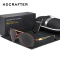 2016 Hot Selling Fashion Polarized Outdoor Driving Sunglasses for Men Sun Glasses Brand Designer Anti-UV with 4 Colors