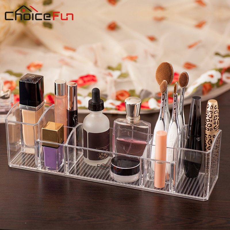 CHOICE FUN Bathroom Organizer Bath Sets Storage Organizer Multi-functional Holder Storage Box Makeup Brush Toothbrush SF-1505