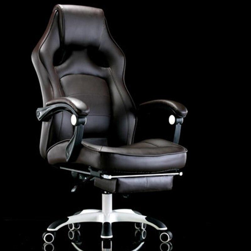 Computer di casa ufficio reclinabile massaggio capo ascensore turn resto del piede sedia sedile swive offerta speciale Inviare Russia per free2018NEW