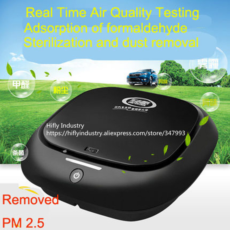 Mini Car Air Purifier HEPA Ionizer Air Purifier Car 12V cigarette lighter use Air Fresher car air purifier million negative ions hepa filter car purifier
