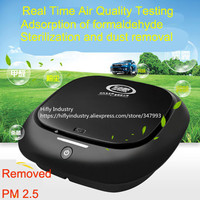 Mini Car Air Purifier HEPA Ionizer Air Purifier Car 12V cigarette lighter use Air Fresher
