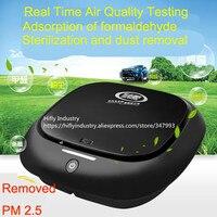 Mini Car Air Purifier HEPA Ionizer Air Purifier Car 12V cigarette lighter use Air Fresher