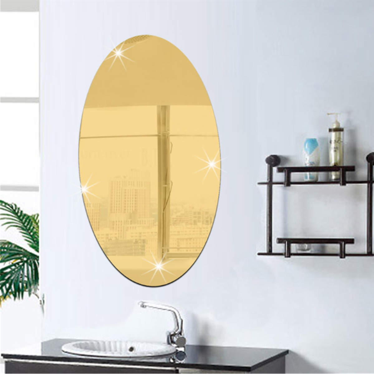Buy crystal wall mirror and get free shipping on AliExpress.com