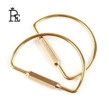 EDC Pure brass car keyring key holder men women accessories creative unisex handmade metal copper keyrings bag charms Z30