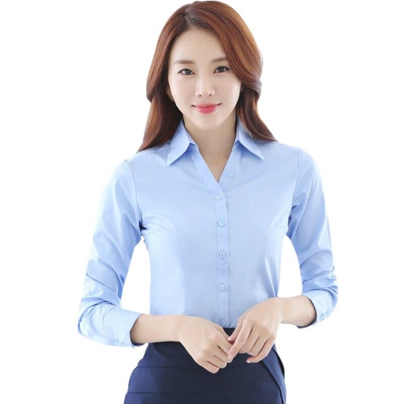 2018 Women   Blouse     Shirt   2018 Autumn Woman   Blouses   Office Lady OL Elegant Slim Tops Casual   Blouse