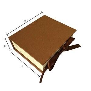 Image 5 - Regalo Moorlando Set de sello de cera, 6 uds sello de cera de sellado botánico cabezas de latón + 1Pc mango de madera con una caja de regalo Vintage