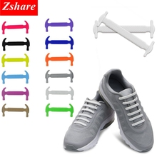 No Tie Shoelaces for Kids and Adults Silicone Shoelaces Elastic Athletic Running Shoe Laces for Sneaker Boots and Casual Shoes