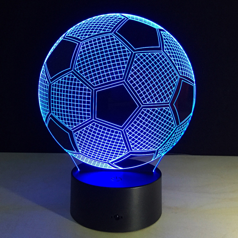 Aliexpress Buy Seven Colors Changing Soccer Ball