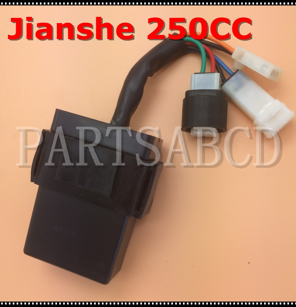 Partsabcd 250cc cdi unit jianshe js250 loncin atv atv250 f atv parts china