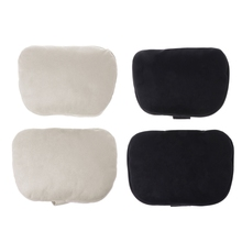 2 Pcs Universal Car Headrest S Class Ultra Soft Pillow For Mercedes Benz Maybach