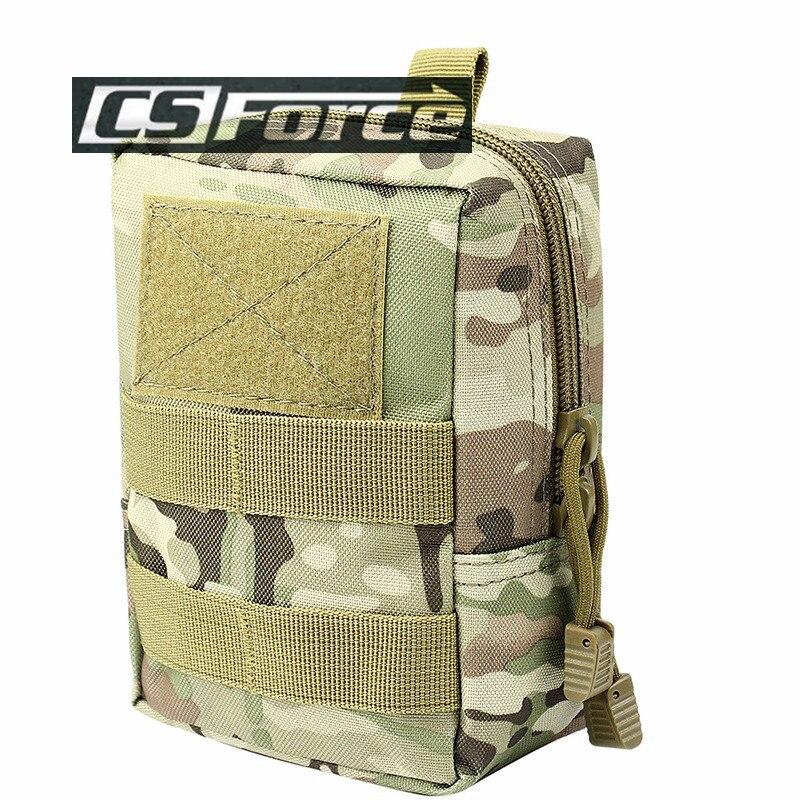 CS Force 1000D Molle Utility EDC <font><b>Magazine</b></font> Bag Airsoft Tactical Dump Drop Pouches Military Equipment Waist Bag Accessory Pouch $
