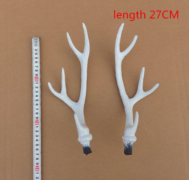 Simulation Simulation deer antlers white shoot photography props - Home Decor