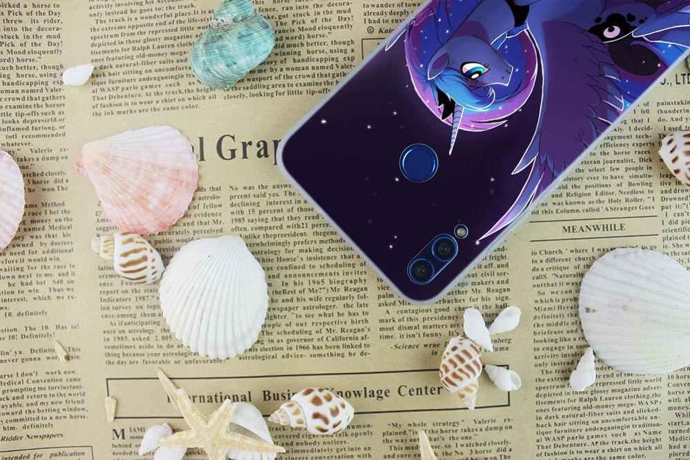 Силиконовая задняя крышка чехол для телефона с рисунком из мультфильма «Мой Маленький Пони» для huawei Honor 10i 9i Lite 8a 8x max 8c 7x 7a pro 6x V20 бледный мягкий