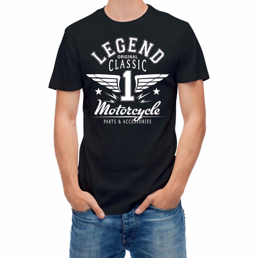 t shirt homme 2017 new cool t shirts designs best selling men motorcycle legend racer riding. Black Bedroom Furniture Sets. Home Design Ideas