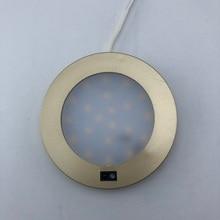 Светодиодный светильник для шкафа с датчиком движения, 12 В постоянного тока