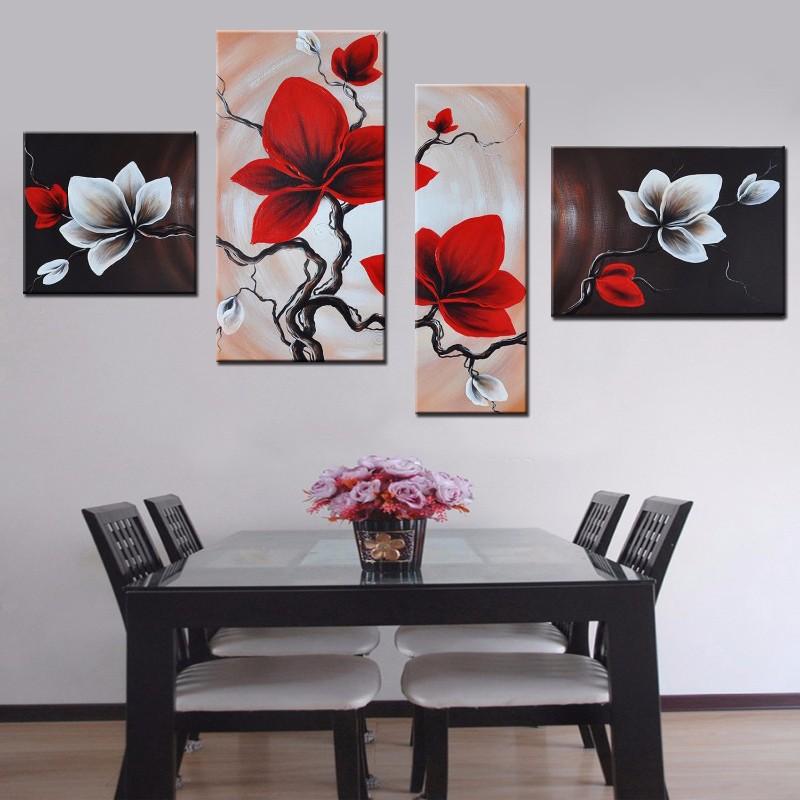 Flower oil painting (4)