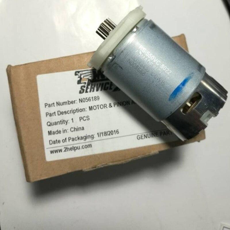 16 Teeth 16teeth Motor  DC10.8V 12V For DeWALT DCF610S2 DCF610 N056189 N008668 Screwdrive  Electric Drill