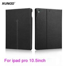 """XUNDD estuche Para iPad Pro 10.5 """"2017 Negocios De Lujo Carpeta Del Tirón Del Cuero Superior de LA PU Del Caso Del Soporte A Prueba de Golpes para iPad Pro 10.5"""" Shell"""