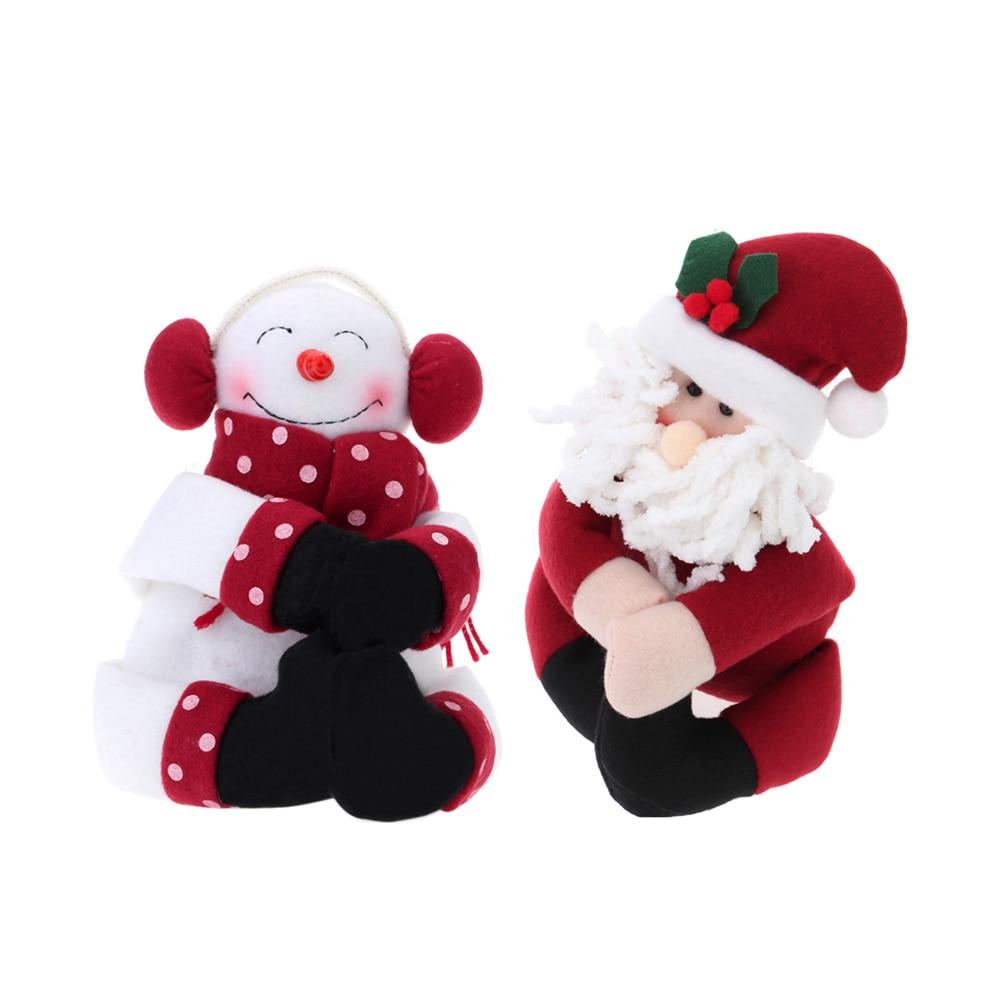 Aliexpress com buy christmas decoration for home merry christmas gift for christmas cute santa claus snowman