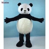 Классический панда Маскоты костюм медведь Маскоты костюм Панда Маскоты костюм для взрослых Прекрасный Panda тема мультфильм карнавал Маскот