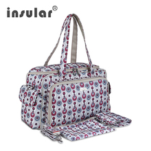 Insular brand baby Stroller bag Fashion Baby nappy Bag mummy messenger bag Waterproof 600D Nylon Mommy Changing Bag