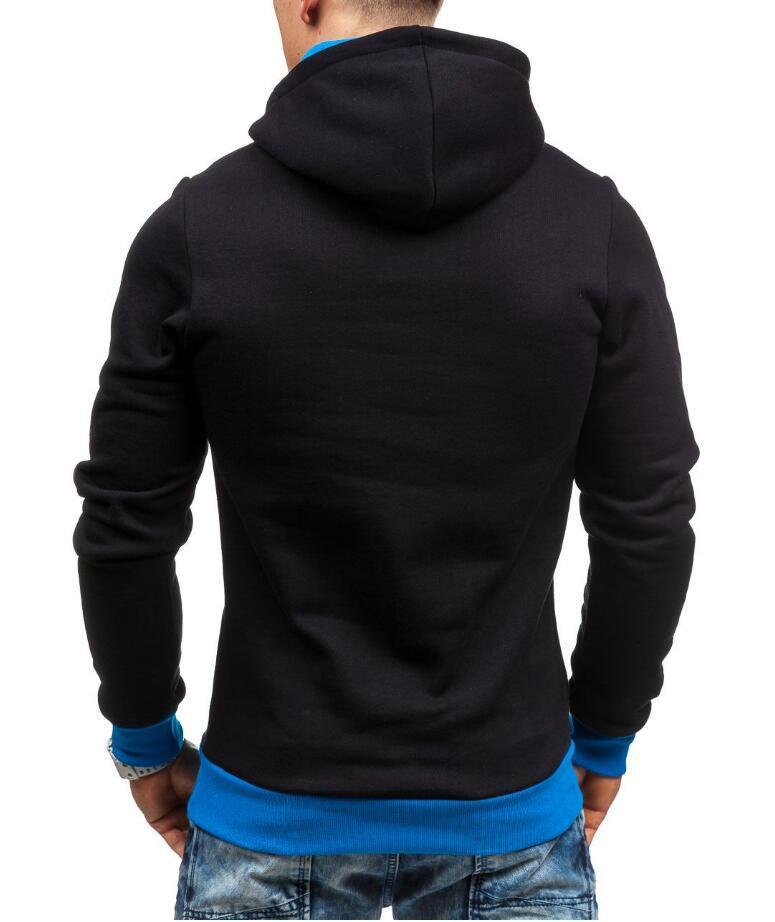 HEYKESON Brand 2017 Hoodie Oblique Zipper Solid Color Hoodies Men Fashion Tracksuit Male Sweatshirt Hoody Mens Purpose Tour XXL HEYKESON Brand 2017 Hoodies, with an chest Zipper HTB1jY29SFXXXXX0XXXXq6xXFXXXn