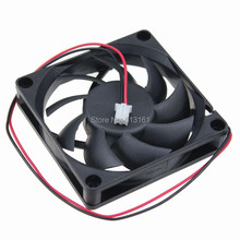 Free Shipping 5pcs/lot  GDT 24V 2pin 70mm 7015S  Axial Fan 70mmX70mm x 15mm cooling fan 70mm