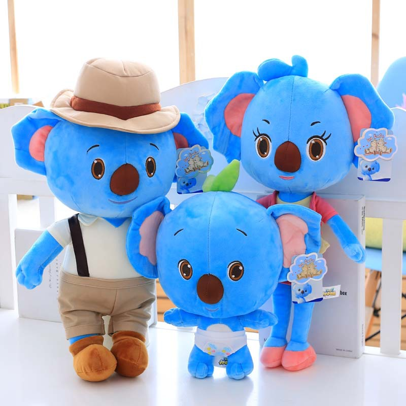 Toys For Mom And Dad : Family koala plush toys mom and dad baby classic