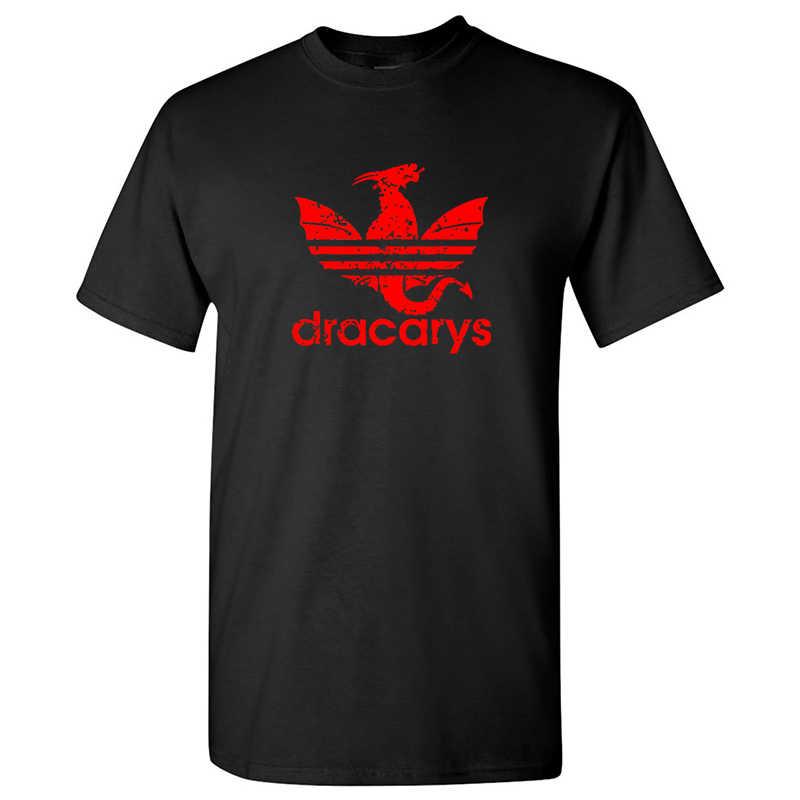 新しい Dracarys tシャツメンズ/女性ゲームの魂の美的 tシャツ母ドラゴン Daenerys 原宿服 Khaleesi camiseta