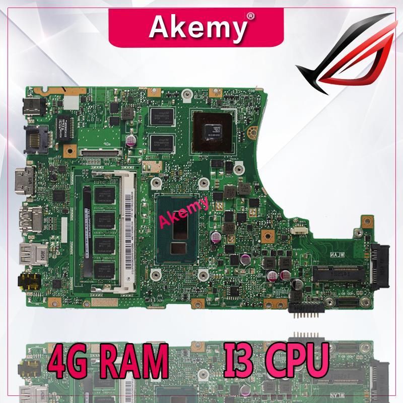 Akemy X455LD X455LJ Laptop motherboard for ASUS X455LD J X455L X455 Y483L W419L W409L F455 Test