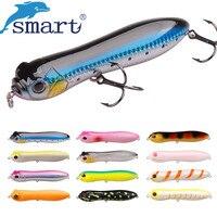 Smart Fishing Lures 130mm 30g Pencil Top Water De Peche Leurre Souple Isca Pesca Fishing Winter