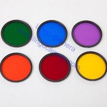 Full Color Filter 37mm 40.5mm 43mm 46mm 49mm for SLR DSLR Camera Lens
