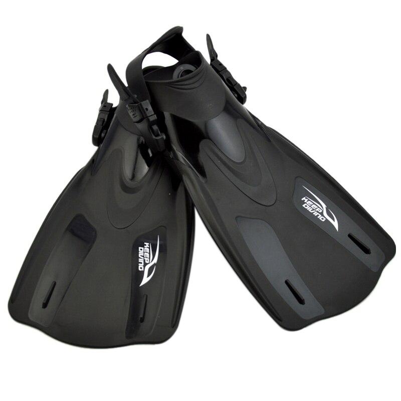 Adultes natation palmes de plongée apnée pied Flipper natation grenouille chaussures plongée sous-marine équipement d'entraînement