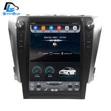 32G ROM Dikey ekran android araba gps multimedya video radyo dash toyota camry 2012-2017 için yıl araba navigaton