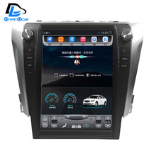 32G ROM pantalla Vertical android gps del coche multimedia video player radio en el tablero para toyota camry 2012-2017 años navigaton coche