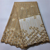 New arrival graceful embroidered beads curtains French Net Lace,JYF101 Free shipping and cheap price African Tulle Lace Fabric