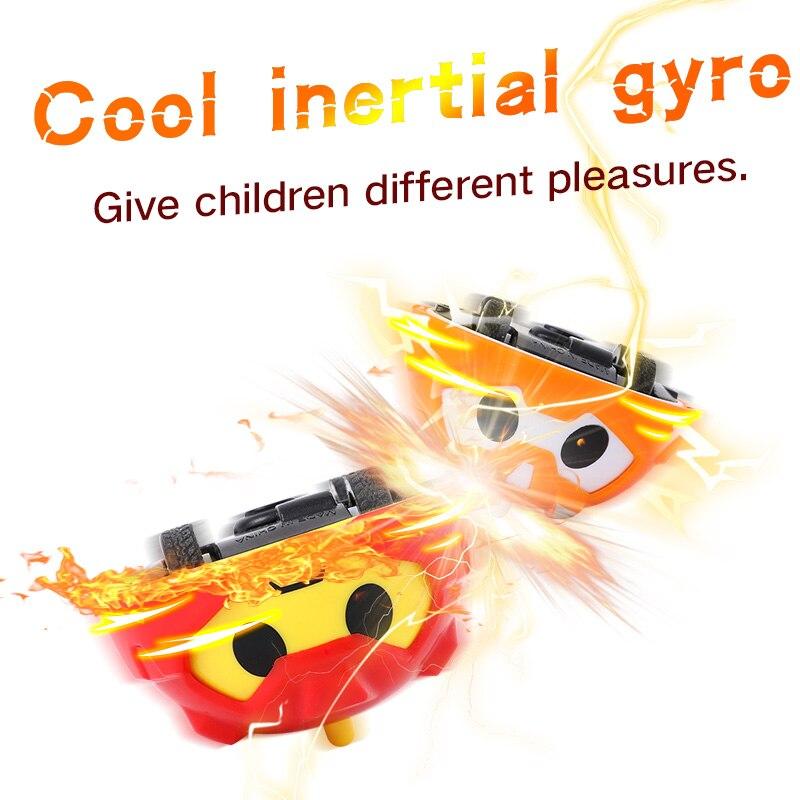 Cool Stunt Gyro In De Dinosaurus Ei, Super Impact Gyro Mini Dier Inertie Auto Glijden Speelgoed, Een Verscheidenheid Van Game Modes