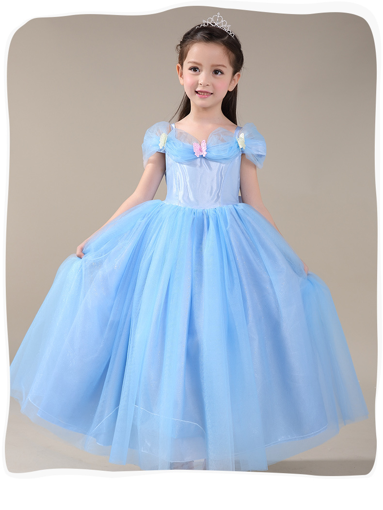 1e57348ef Cinderella Costume Girls   Brand Cinderella Dress Halloween Girls ...