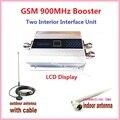 Led de visualización de la Pantalla GSM 900 versión mejorada del repetidor celular MÓVIL CELULAR Repetidor de Señal de refuerzo, amplificador GSM, 500 sq. m.