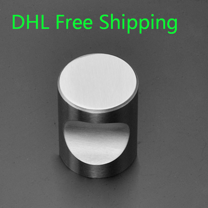 Modern 100Pcs/lot 304 Stainless Steel Material wood drawer handles ...