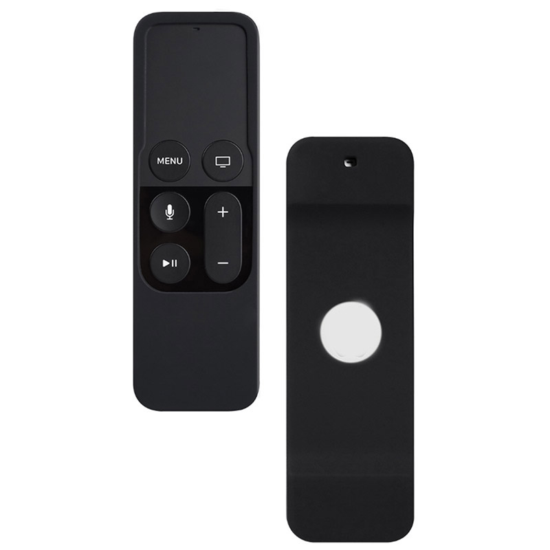 Soft Colorful Silicone Protective  Dust Case Cover Skin For Apple TV 4 Remote Control Waterproof Cover Fitted Case