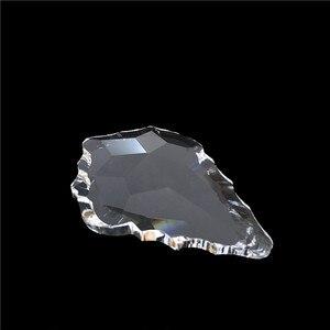 Image 4 - Großhandel Preis, Freies Verschiffen AAA 50mm (192 teile/los) Kristall Kronleuchter Anhänger/Kristall Vorhang Anhänger, kristall Kronleuchter Teile