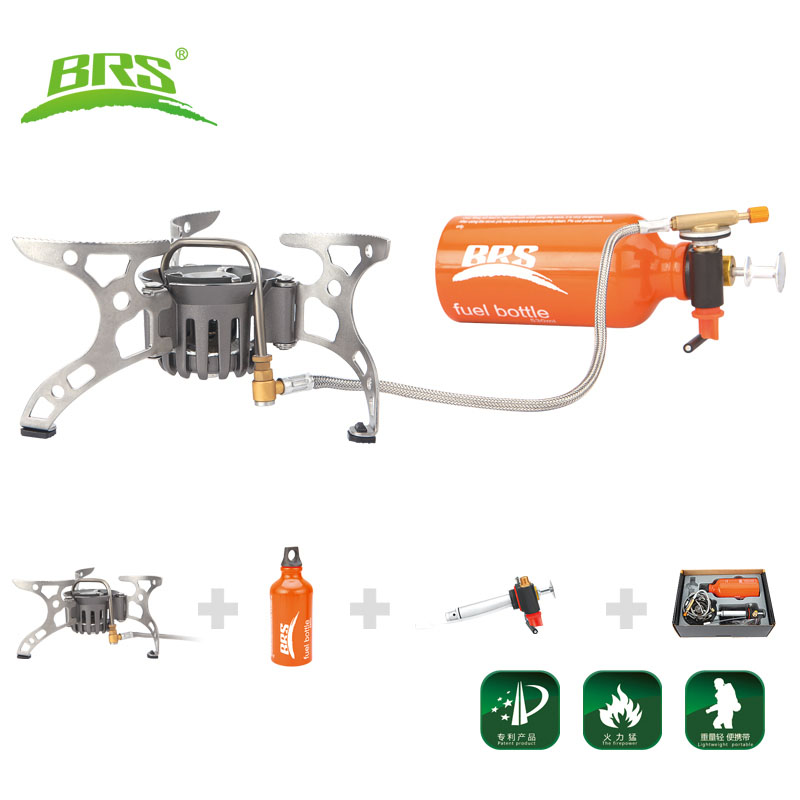 BRS-8 8A 8B Multi Oil portable ra3a gas adapter  outdoor camping gas cooker picnic stove brothers field gasbrander