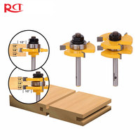 Binoax 1 4 Shank 2 Bit Tongue And Groove Router Bit Set
