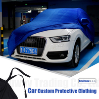 Car Covers Anti UV Snow Rain Scratch Resistant Automatic Car Covers For Audi Allroad Q3 Q5 Q7 90 A1 A3 S7 S6 S5 90 A6 Q3 RS5 S3