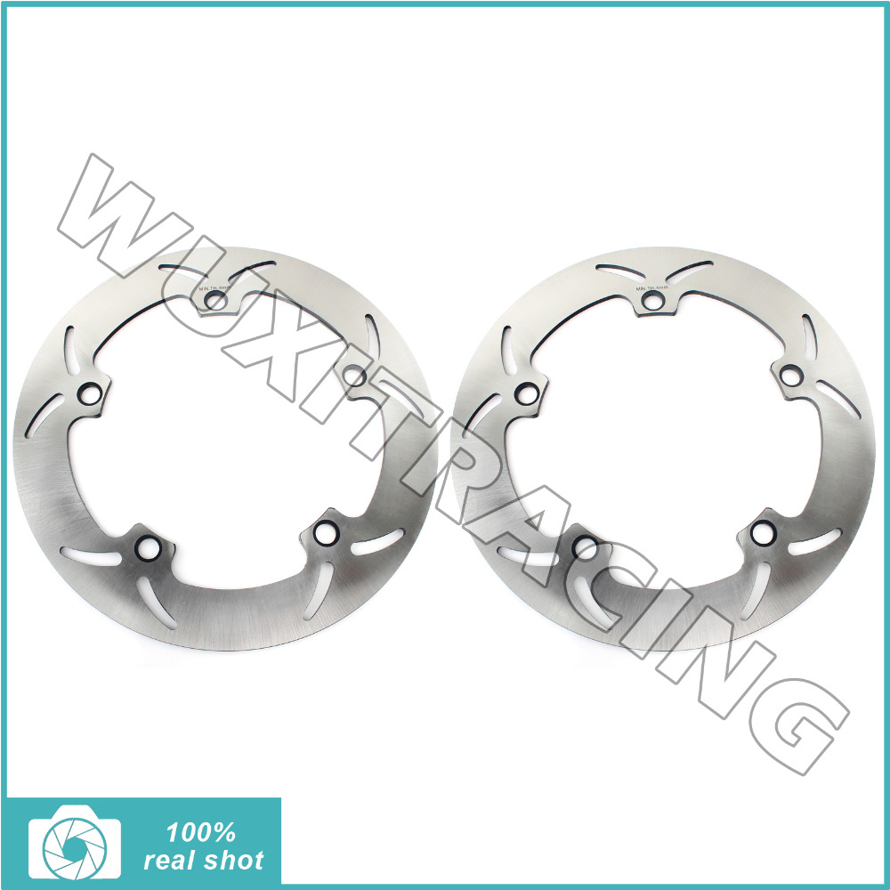 Front Brake Disc Rotors for BMW R 850 1100 1200 C GS R S ADVENTURE LT RS CL ABS 98-16 99 01 02 03 04 05 06 07 K 1200 LT RS 97-00 front brake discs rotors for moto guzzi breva 850 1100 1200 05 08 griso 850 1100 1200 05 16 norge 850 1200 06 07 sport 1100 1200