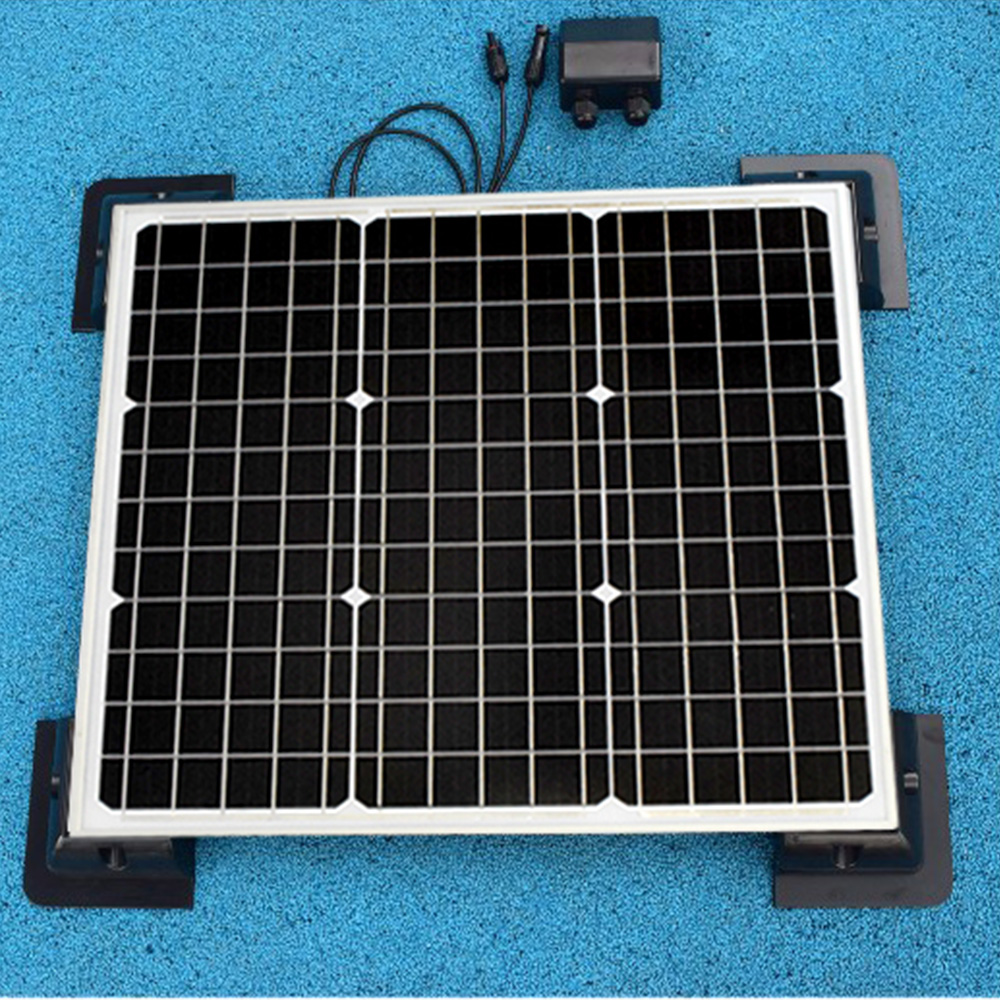 BOGUANG 40W Monocrystalline Solar Module by ABS fix frame solar cell factory cheap selling 12V solar panel RV Marine Boat ...