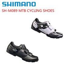 Shimano SH-M089 велосипедные туфли SPD SPD-SL MTB горный велосипед обувь черный/белый